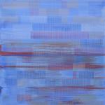 Jodhpur ville bleu 116x81cm